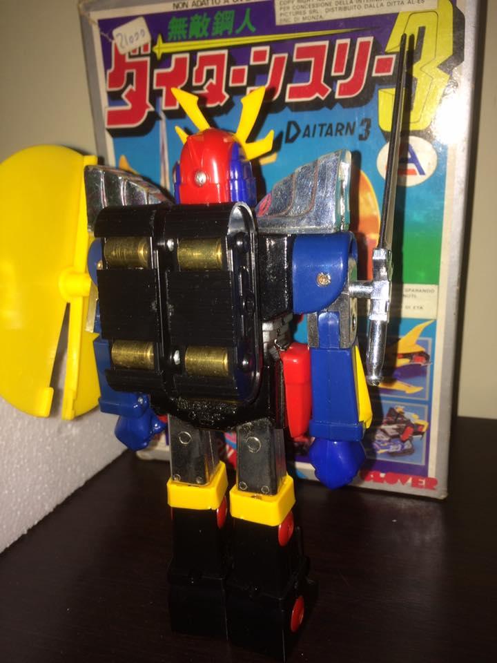 Daitarn 3 Daitan tre Clover Tre trasformazioni Anni 70 /80 Toys Vintage 14450010