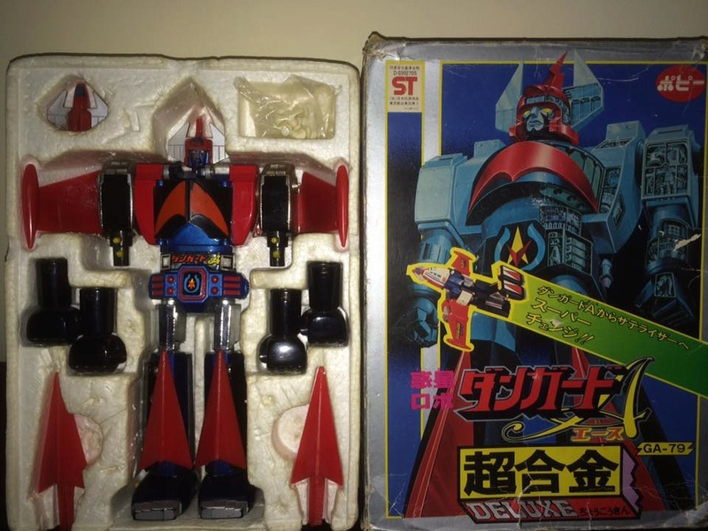 DANGUARD GA 79 Dx METAL POPY DeLUXE SATELIZER ROBOT JAPAN BOX old '70 MATSUMOTO 14457212