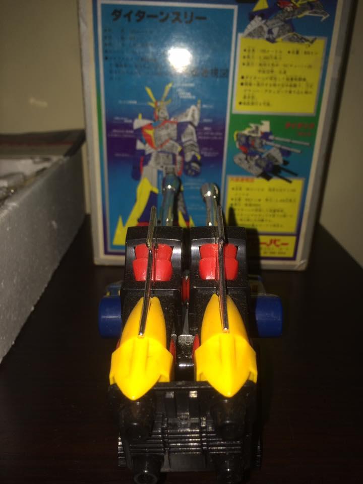 Daitarn 3 Daitan tre Clover Tre trasformazioni Anni 70 /80 Toys Vintage 14462712