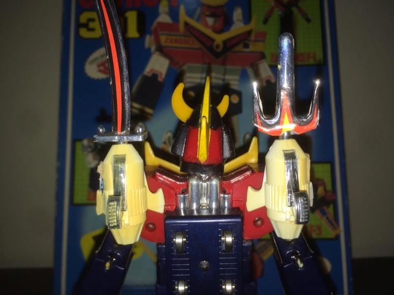 Robot-ZAMBOT-3-Junior-3-in-1-Ceppiratti-Die-Cast-1980-Zamboace-Zambull-Zambase   14462912