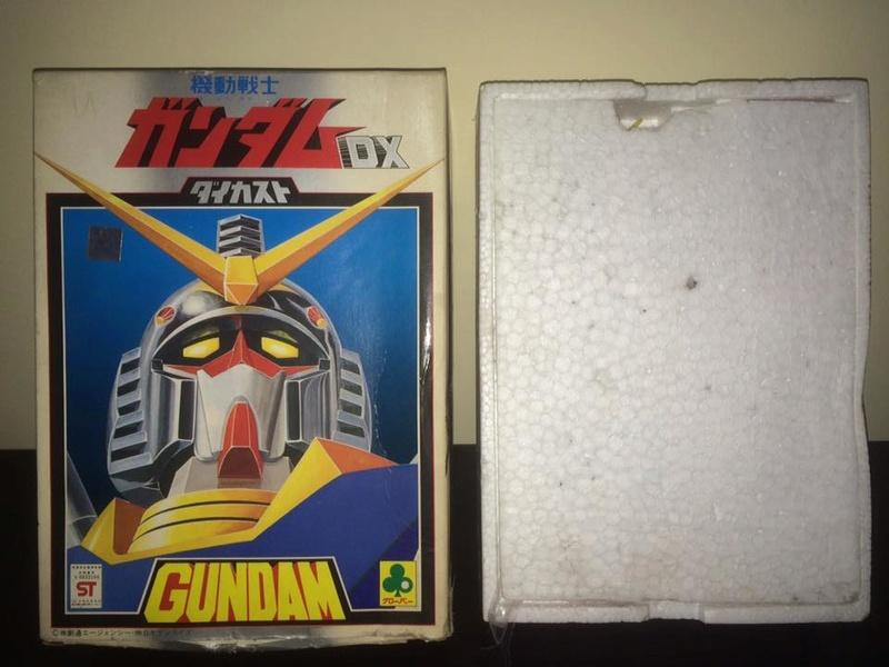 Robot-Gundam-RX-78-DX-Clover-con 70 80 Vintage Spara Dischi al Petto 14470410
