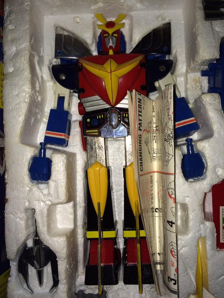 Daitarn 3 Clover DX Sunrise Deluxe set Daitan TRE Toys Anni 70 80 Vintage 14470511