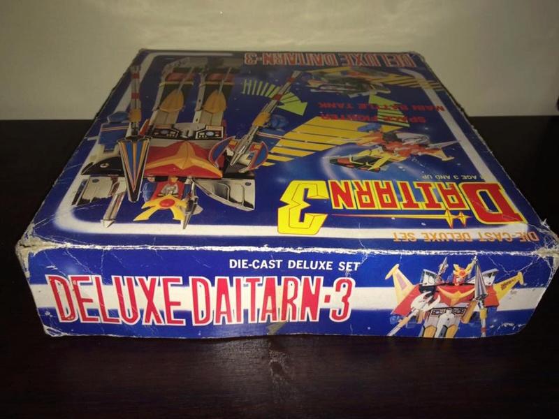 Daitarn 3 Clover DX Sunrise Deluxe set Daitan TRE Toys Anni 70 80 Vintage 14470512