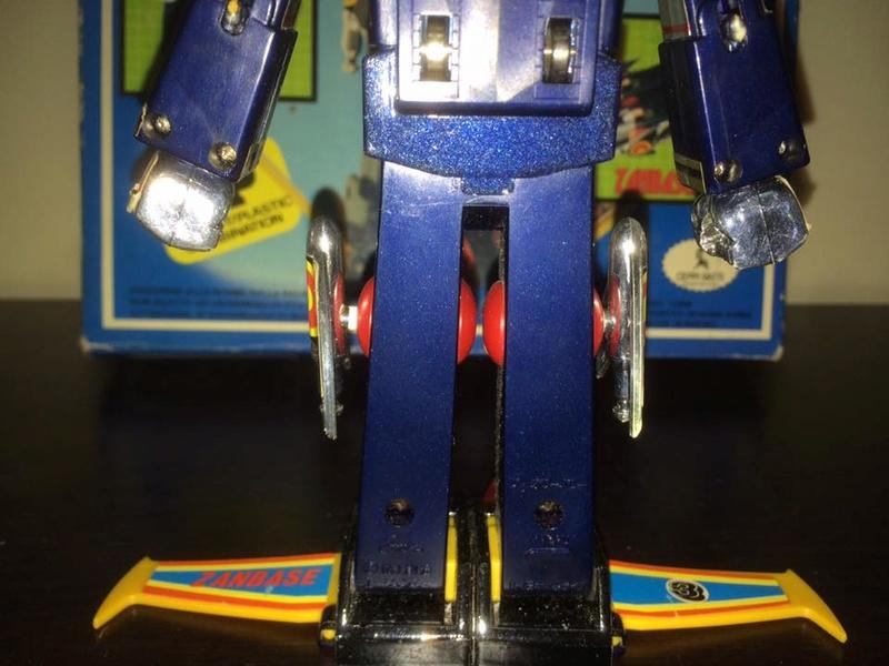 Robot-ZAMBOT-3-Junior-3-in-1-Ceppiratti-Die-Cast-1980-Zamboace-Zambull-Zambase   14470611