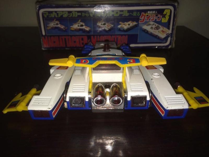 Daitarn 3 Daitan Match Patrol ST Deluxe Japan Machattacker Robot 70 80 Vintage 14479612