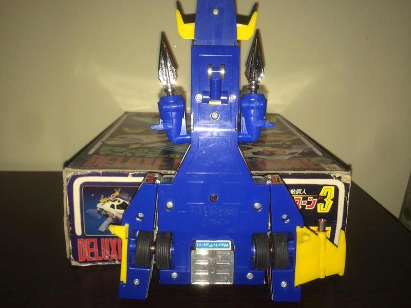 Daitarn 3 Daitan Match Patrol ST Deluxe Japan Machattacker Robot 70 80 Vintage 14479712