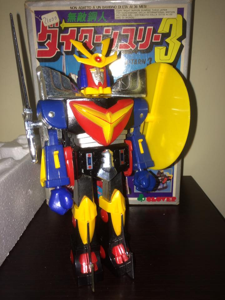 Daitarn 3 Daitan tre Clover Tre trasformazioni Anni 70 /80 Toys Vintage 14484610