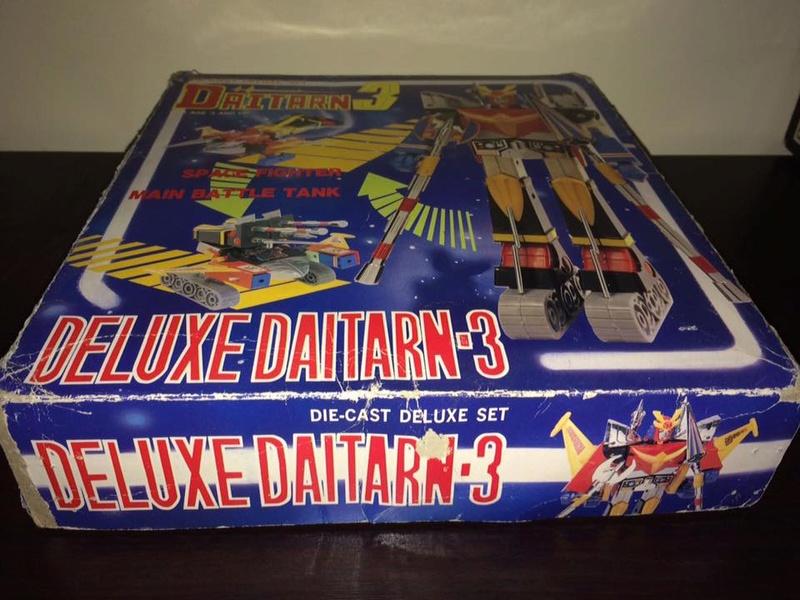 Daitarn 3 Clover DX Sunrise Deluxe set Daitan TRE Toys Anni 70 80 Vintage 14484710