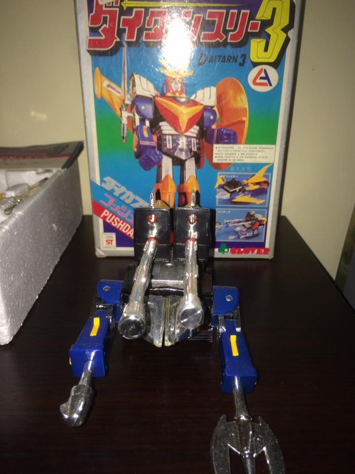 Daitarn 3 Daitan tre Clover Tre trasformazioni Anni 70 /80 Toys Vintage 14484810