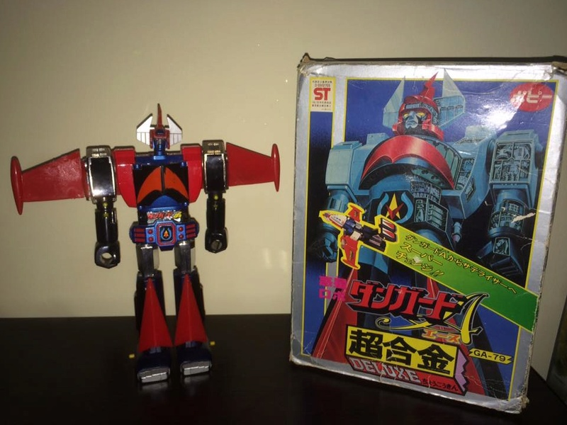 DANGUARD GA 79 Dx METAL POPY DeLUXE SATELIZER ROBOT JAPAN BOX old '70 MATSUMOTO 14492310