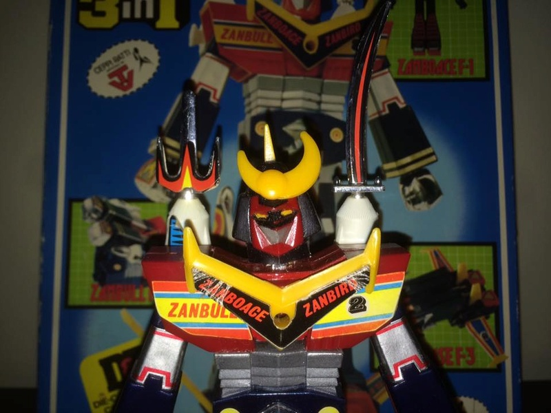 Robot-ZAMBOT-3-Junior-3-in-1-Ceppiratti-Die-Cast-1980-Zamboace-Zambull-Zambase   14492311