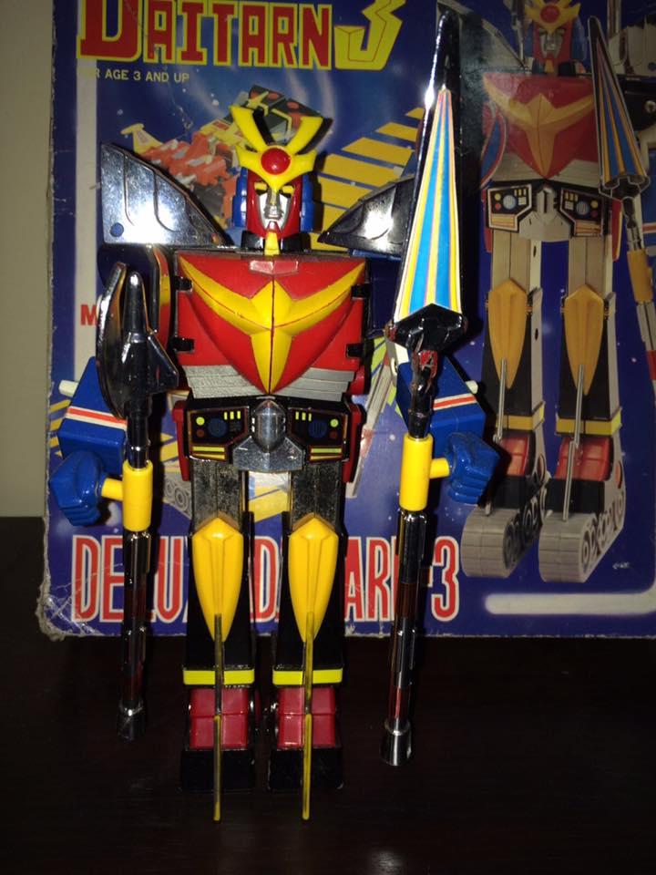 Daitarn 3 Clover DX Sunrise Deluxe set Daitan TRE Toys Anni 70 80 Vintage 14492512