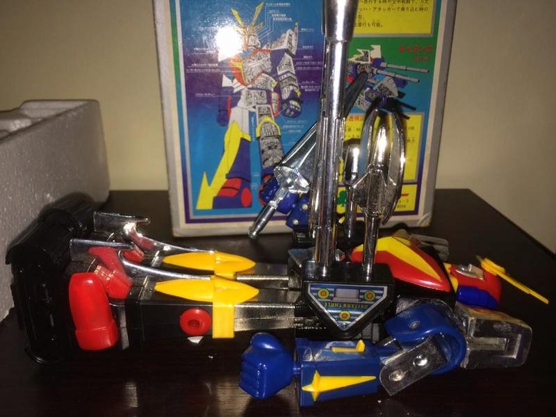 Daitarn 3 Daitan tre Clover Tre trasformazioni Anni 70 /80 Toys Vintage 14492513