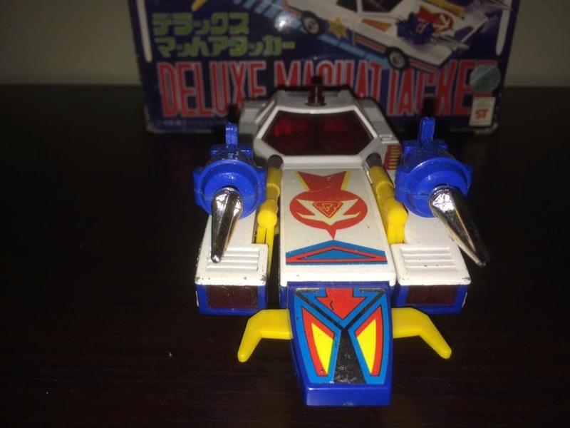 Daitarn 3 Daitan Match Patrol ST Deluxe Japan Machattacker Robot 70 80 Vintage 14492514