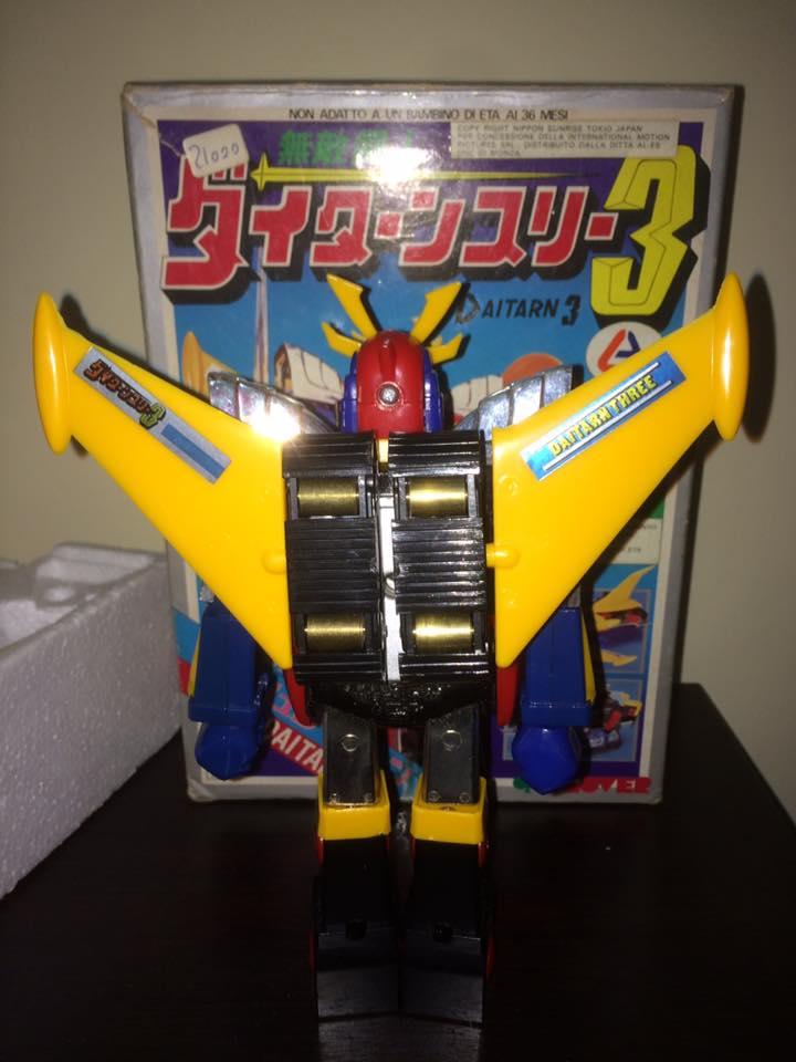 Daitarn 3 Daitan tre Clover Tre trasformazioni Anni 70 /80 Toys Vintage 14494610