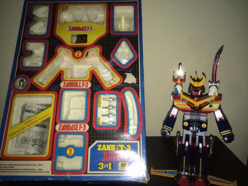 Robot-ZAMBOT-3-Junior-3-in-1-Ceppiratti-Die-Cast-1980-Zamboace-Zambull-Zambase   14495311