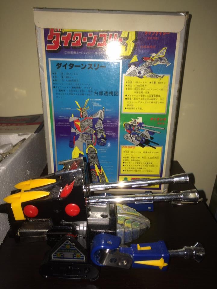 Daitarn 3 Daitan tre Clover Tre trasformazioni Anni 70 /80 Toys Vintage 14502711
