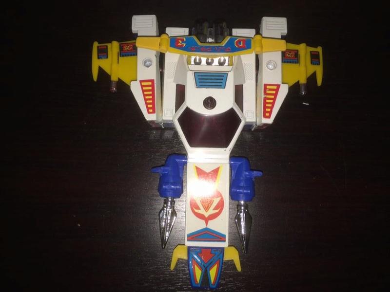 Daitarn 3 Daitan Match Patrol ST Deluxe Japan Machattacker Robot 70 80 Vintage 14516311
