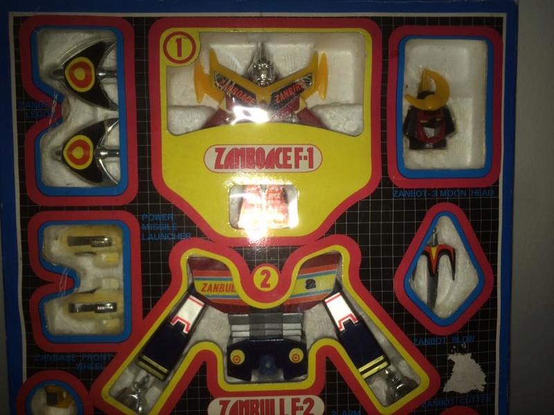 Robot-ZAMBOT-3-Junior-3-in-1-Ceppiratti-Die-Cast-1980-Zamboace-Zambull-Zambase   14517610