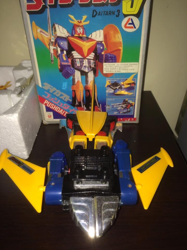 Daitarn 3 Daitan tre Clover Tre trasformazioni Anni 70 /80 Toys Vintage 14520510