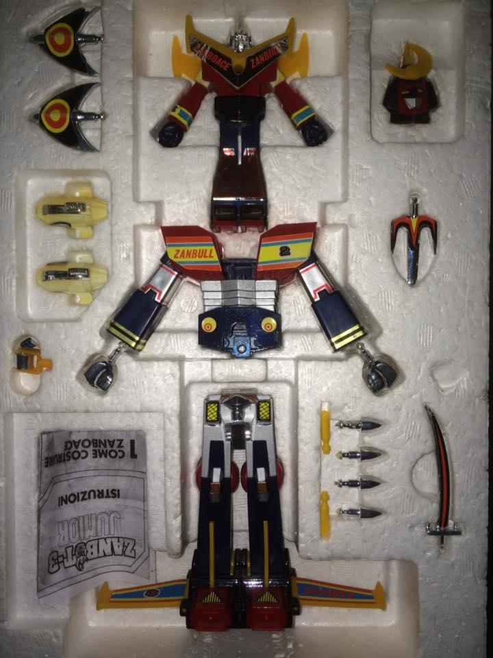 Robot-ZAMBOT-3-Junior-3-in-1-Ceppiratti-Die-Cast-1980-Zamboace-Zambull-Zambase   14522712