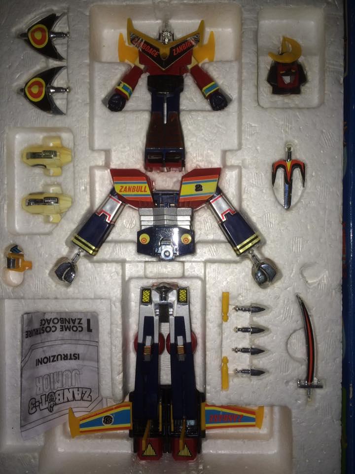 Robot-ZAMBOT-3-Junior-3-in-1-Ceppiratti-Die-Cast-1980-Zamboace-Zambull-Zambase   14522713