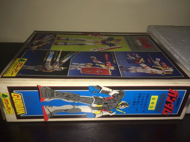Robot-Gundam-RX-78-DX-Clover-con 70 80 Vintage Spara Dischi al Petto 14522810