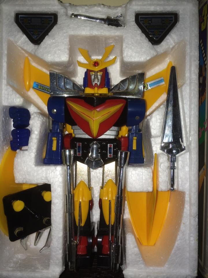 Daitarn 3 Daitan tre Clover Tre trasformazioni Anni 70 /80 Toys Vintage 14522813