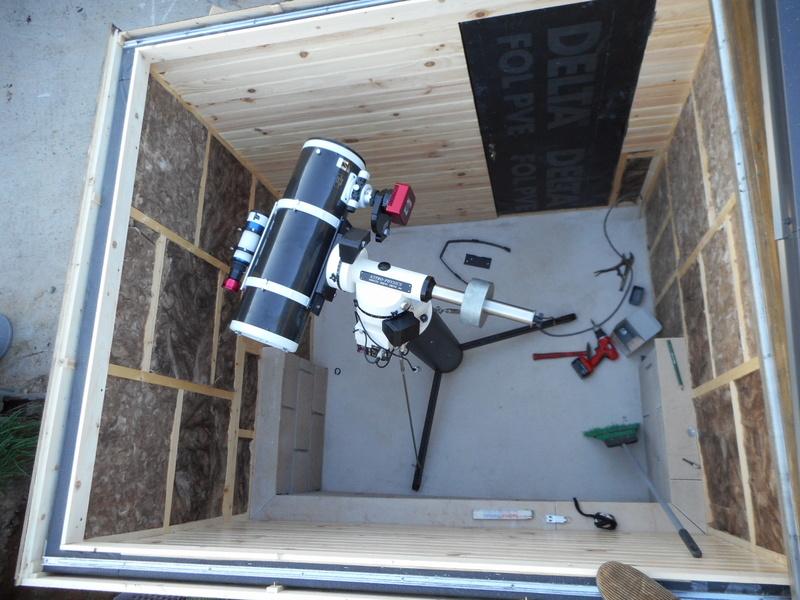 construction de mon observatoire  - Page 3 Dscn0211