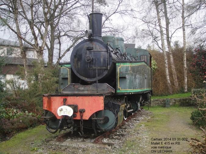 Carhaix - Rénovation de la loco à vapeur Mallet  Carhai10
