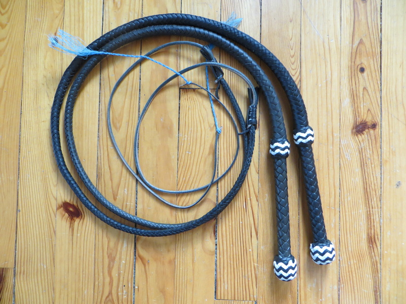 nouvelle paire école et 10ft SNAKEWHIP Black and Yellow Img_6511