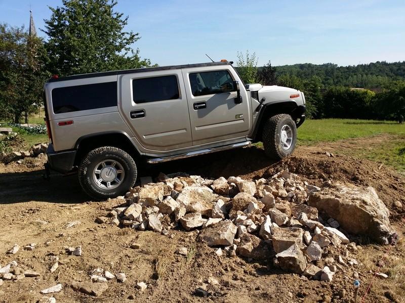Quel marche pied pour faire du off road pour le Hummer ? 20140610