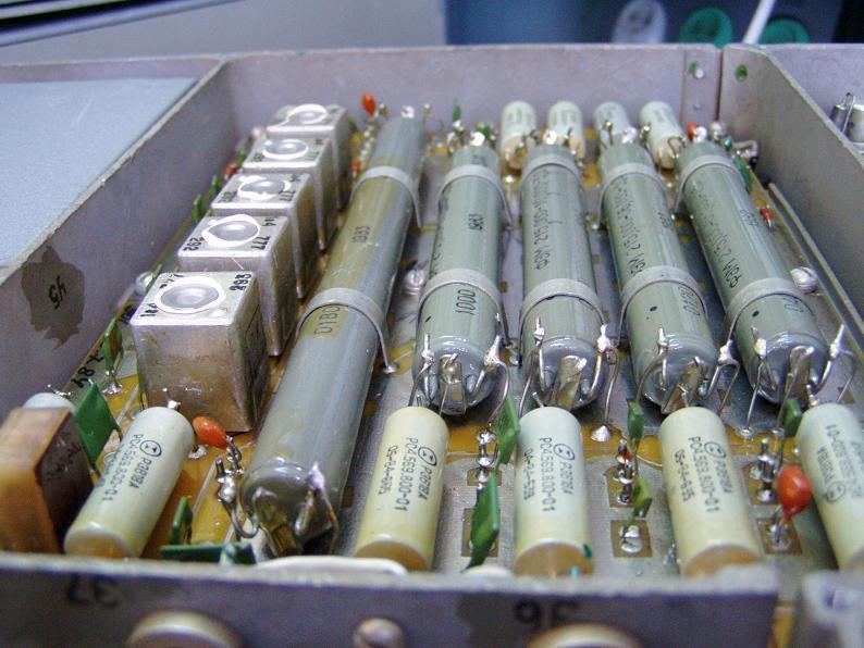 Электромеханические фильтры (ЭМФ, ФЭМ) _o_39910