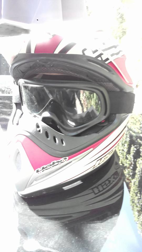 casque moto de cross 14440710