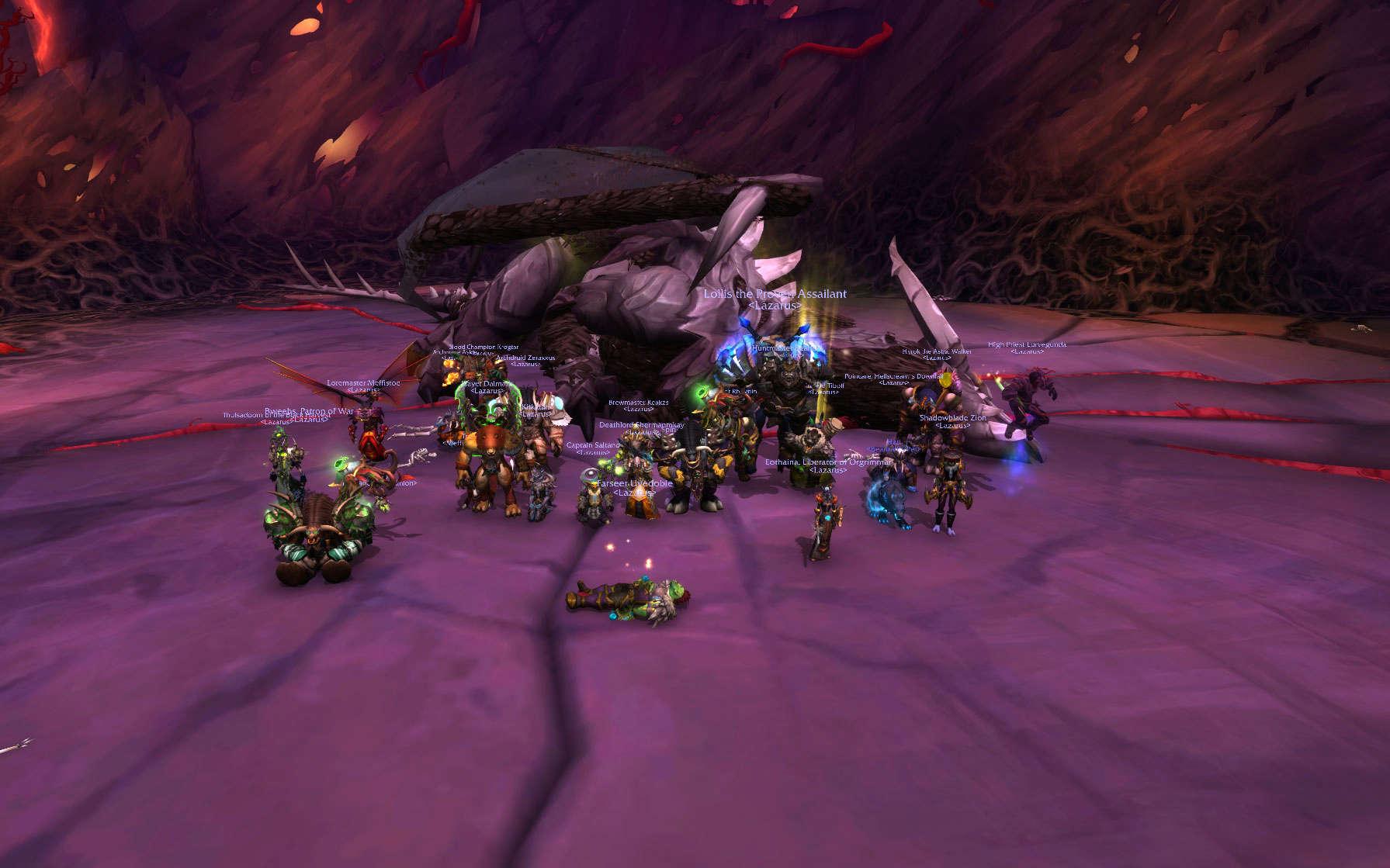 Lazarus Guild Forum - Portal Wowscr10