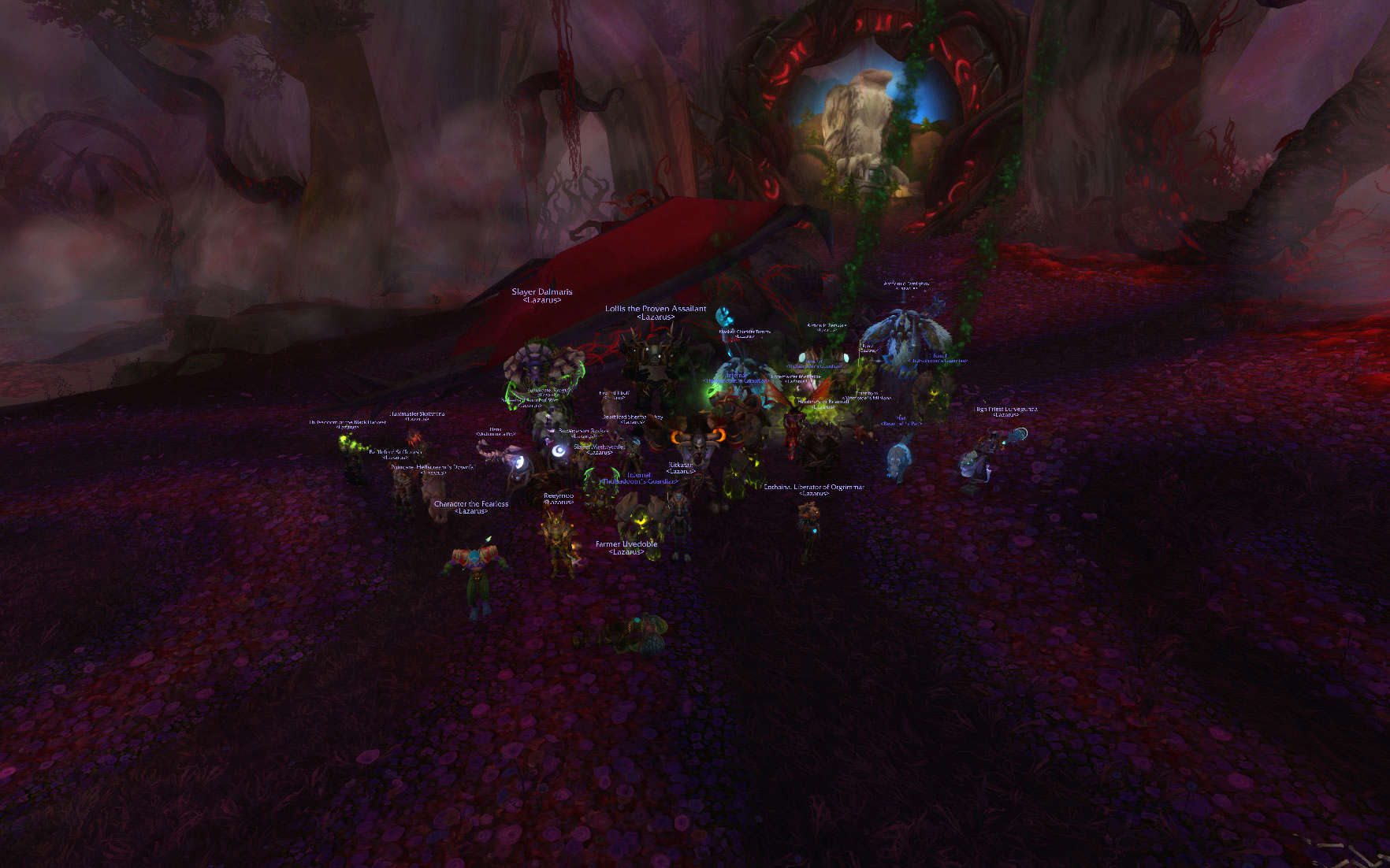 Lazarus Guild Forum - Portal Wowscr11