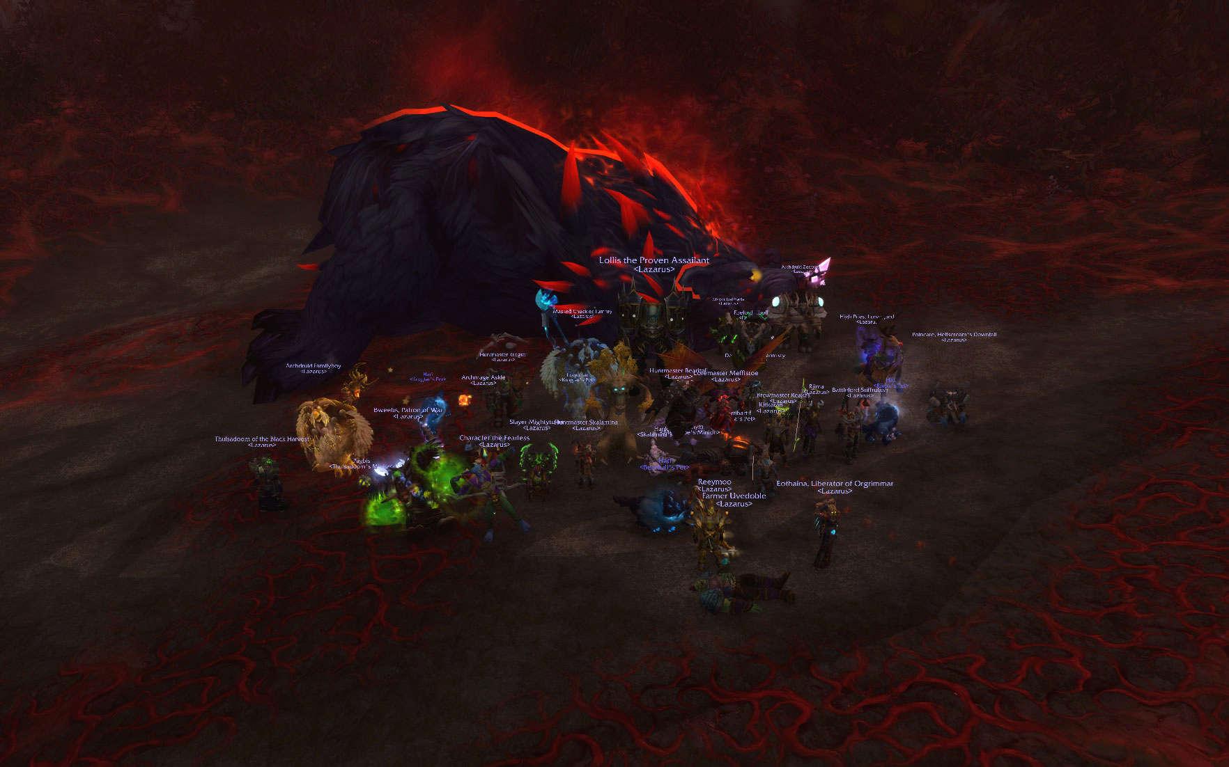 Lazarus Guild Forum - Portal Wowscr12
