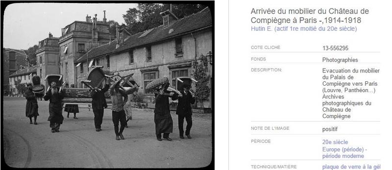 """Exposition """"Le palais de Compiègne dans la Grande Guerre""""  0210"""