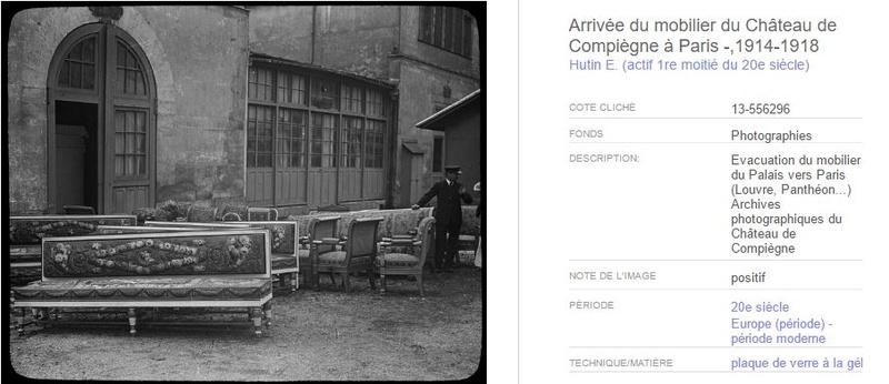 """Exposition """"Le palais de Compiègne dans la Grande Guerre""""  217"""