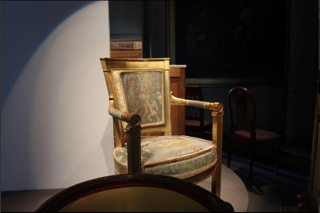 Expo. Fontainebleau : la première chambre de l'empereur 219