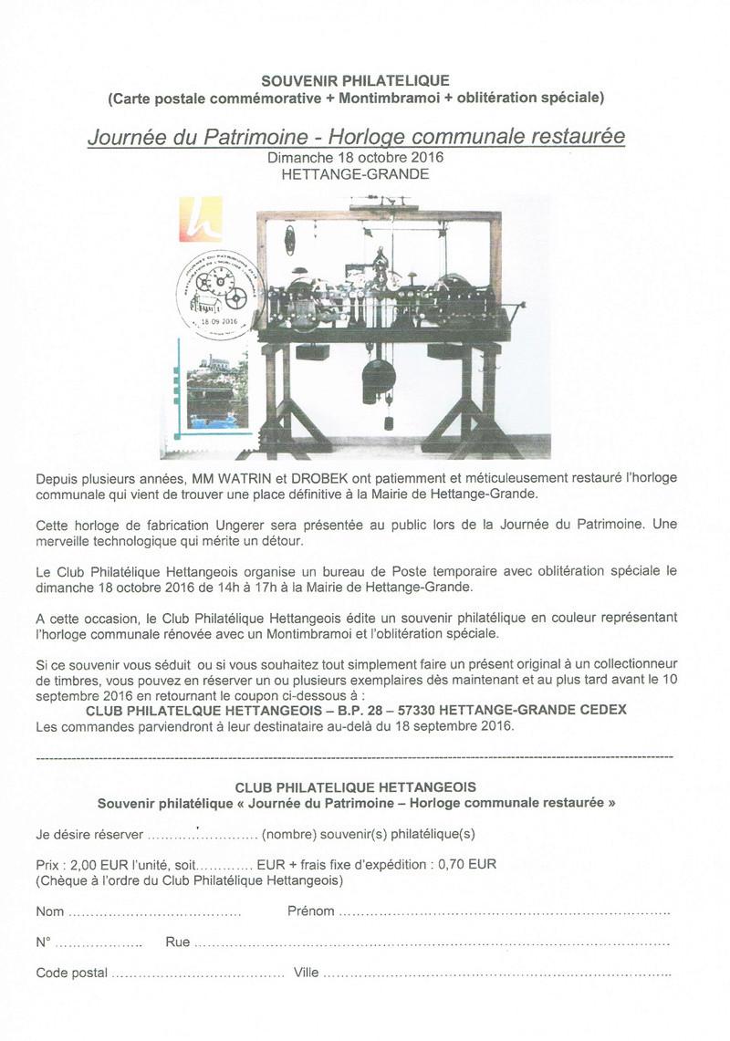 57 - Hettange-Grande - Club philatélique Hettangeois 57_clu10