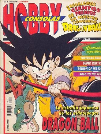 Dragon Ball en Hobby Consolas 97244610