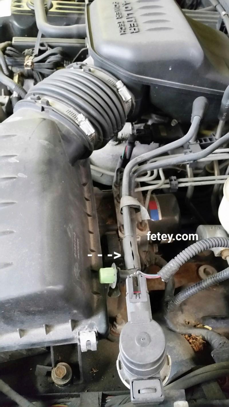 Jeep Cherokee 2002 4L, P0442 small evap leak 2016-011