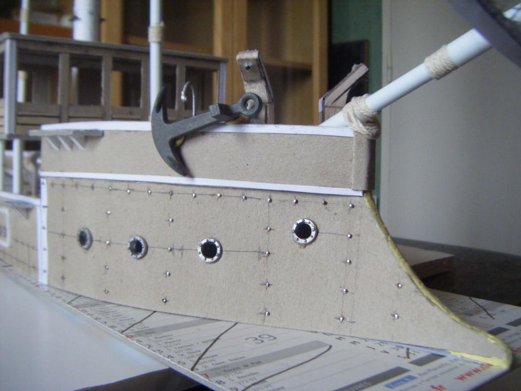 [Marine Coloniale] Grosse canonnière  1850-1920 28mm  Blinda11