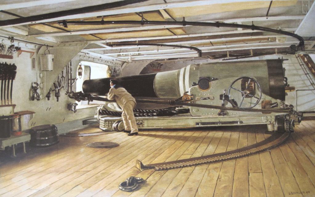 [Marine Coloniale] Grosse canonnière  1850-1920 28mm  Canon_10