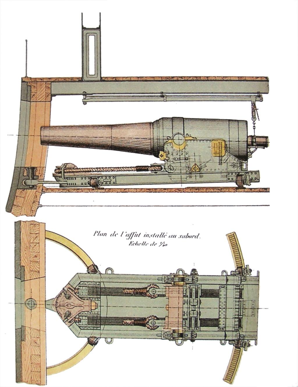 [Marine Coloniale] Grosse canonnière  1850-1920 28mm  Canon_11