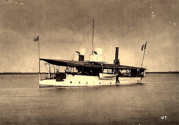 [Marine Coloniale] Grosse canonnière  1850-1920 28mm  Gunboa11