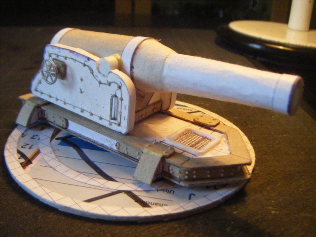 [Marine Coloniale] Grosse canonnière  1850-1920 28mm  Ha110