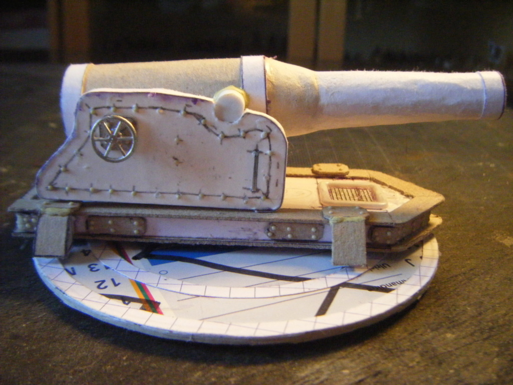 [Marine Coloniale] Grosse canonnière  1850-1920 28mm  Ha410