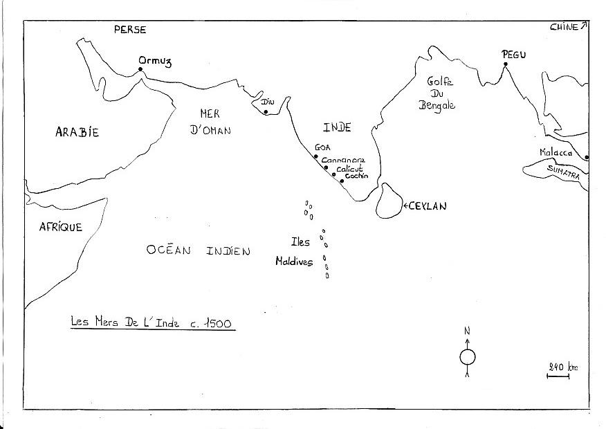 [Les Portugais en Inde 1500] Contexte historique Mers_i11
